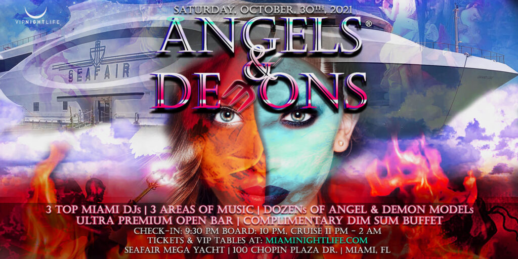 Miami Halloween Party Cruise - Angels & Demons