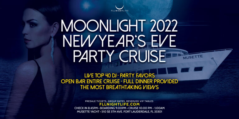 Moonlight Fort Lauderdale NYE Cruise 2022